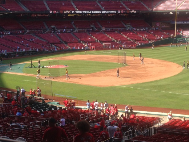 Baseball Heaven, from a Cardinal fans' perspective.