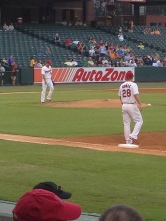 Michael Wacha became a star last year in St. Louis, but I got to see him play in Memphis. Obvious how much he loves his work.