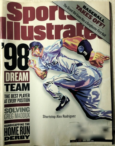 In the years since 1998, Alex Rodriguez has gone from cover story hero to morality tale. Strange, how prophetic this caricature seems now.