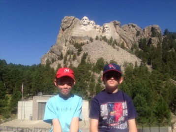 My boys may not remember what they did on their first trip to Rapid City. But I hope they remember that it was a good day, and that we were together.