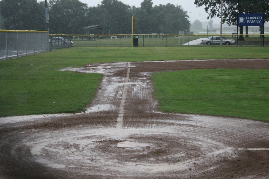 Time and chance happen to all. So do rainouts.